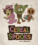 Cereal Spooks by MaxGraphix