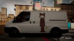 Forza Horizon 2 - Ford Transit SSV Whiteboard by deathmachine630