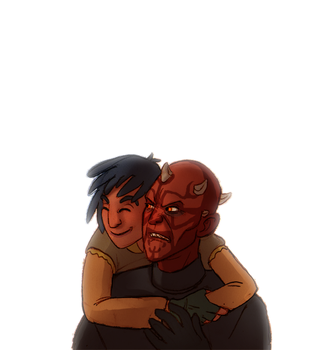 [WARNING: SWR SPOILERS] Hugs by Teq-Uila