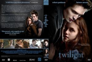Twilight Movie DVD Cover by czechoslovakian7