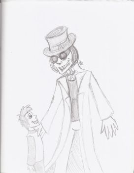 Wonka And Charlie by InvisibleCorpseGirl