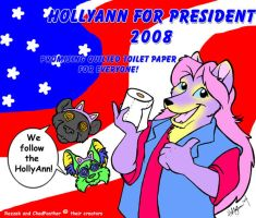 HollyAnn For President by hollyann