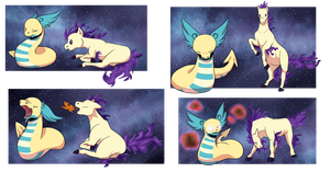 PKMNation | Payment (2/2) | Greer and Erebos by LunaStar52