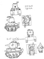 Some tanks by xenos60