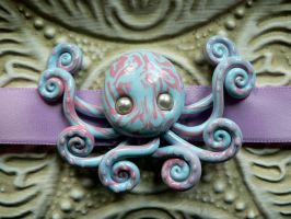 Girly Octopus Choker by BlackMagdalena