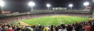 Red Sox Centerfield View by ironman8855