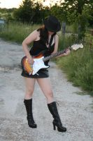 Guitar and Boots Stock - 3 by SafariSyd