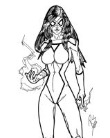 Spider-Woman by wrastor