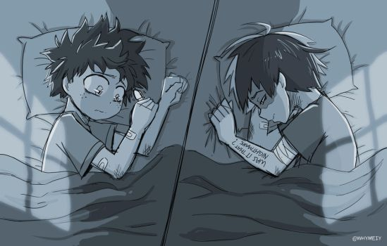 [Tododeku] Was it that nightmare? by whymeiy