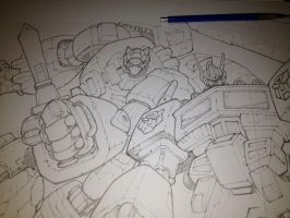 Transformers pencils by mikebowden