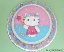 Hello Kitty Fairy by ginas-cakes