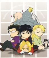 FMA goes CHIBI by o0oSeikou0o0