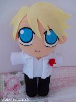 Persona 4 Teddy Plushie by VioletLunchell