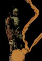 Boba Fett - Coloured by Count-Archek-Brauer