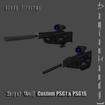 Sniper Wolf's Custom PSG1 Pack by DamianHandy