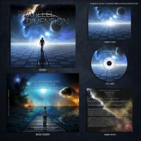 Parallel Dimension 'Horizons' CD Layout by Karelys-Luna