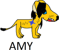 Amy as a lion by Me-MowTheCat