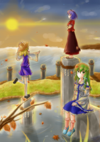 Just Another Day in Gensokyo - Autumn by Masatog