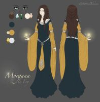 Commission: Morgana by LittleMissWiseass