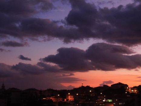 Nightfall at Canico by MiguelSousaAlves