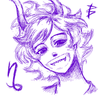 my first Gamzee by W-Violett-D
