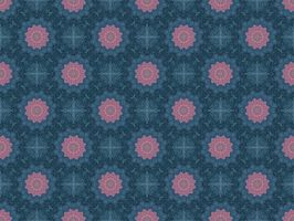 Blue Stars Lawn Tile by Fractal-Kiss