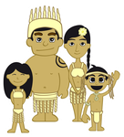 Familia Rapa Nui by jparmstrong