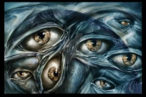 Does He who formed the eye not see? by digitalartaficianado