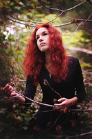 Blackthorn witch by CamilaCarter