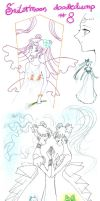 Sailormoon doodledump 8 by NitroFieja