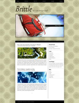 Brittle For Wordpress by CHemiCalINCK