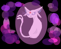 Espeon by Dragoonroot