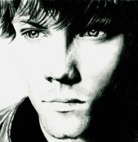 Sam Winchester(Jared Padalecki) by Rauge