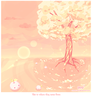 Peach Tree by Citron-Ami