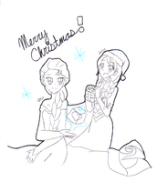 Frozen Christmas 2013 by ChocolateDollie