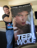 Me and my Teen Wolf poster by sugarpoultry