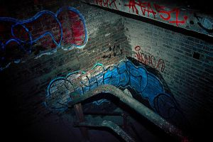 Please, Don't Go Down There by S-H-Photography