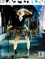 Gwen Stefani magazine cover by storybox