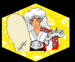 Sesshomaru Honeycomb by bluebellangel19smj