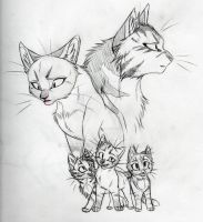Their HIS kits SKETCH by KasaraWolf