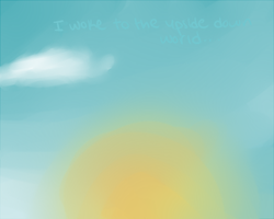 i woke to the up-side down world by PastelLights