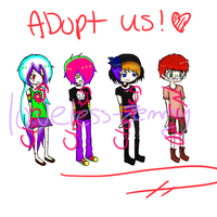 Collabed Adoptable batch CLOSED. by Loveless-Zemmy