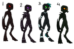 Endermen Adopts [CLOSED] by AwesomeC99