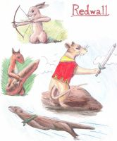 Redwall by Moundfreek