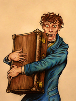 Fantastic Beasts - Newt Scamander by lil-moocher