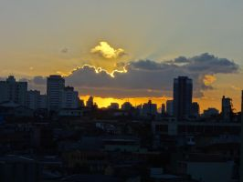 When The Sun Reaching The Other Side by Falcoliveira