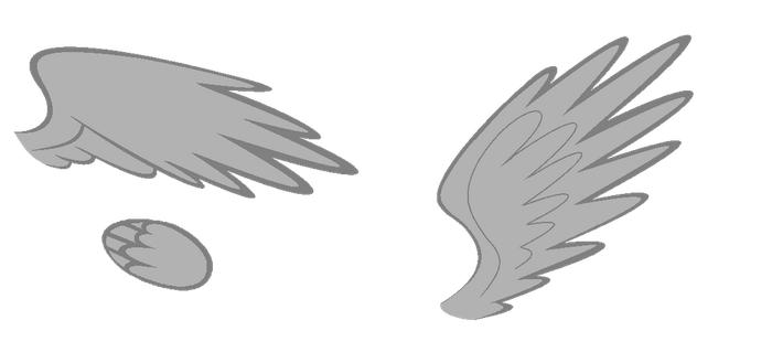 Princess wings :free to use: by RB-Bases