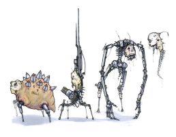 Mechanical Monsters by DMBoyleDesign