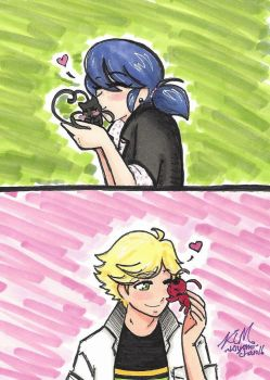 Miraculous Ladybug: You're such a cutie! by Kiyomi-chan16