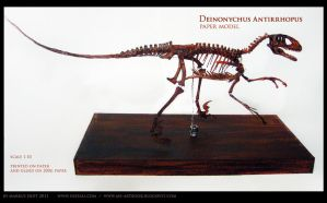 Deinonychus by Vaejoun